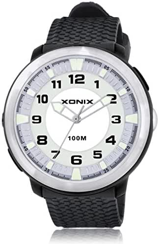 Fashion simple couple of luminous lighting waterproof quartz watches-G