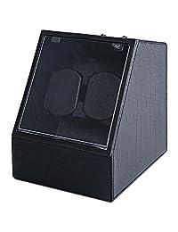 LightMe JA1621 Auto Mute Watch Winder Irregular Shape Wristwatch Display Box Jewelry Storage Case