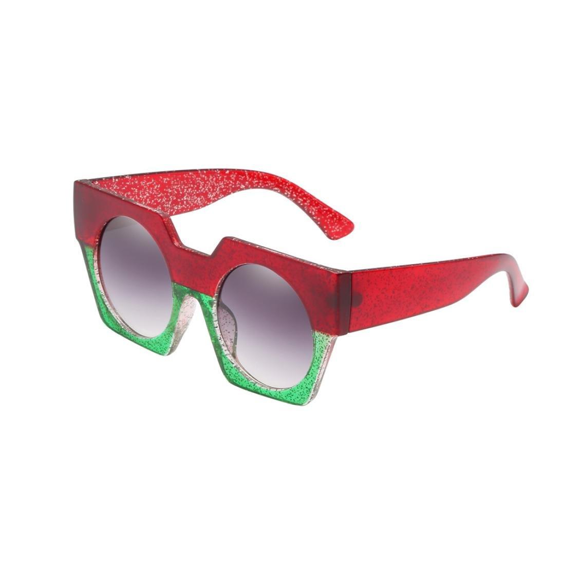 Amazon.com: Vertily Clout Gafas de sol retro de gran tamaño ...