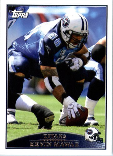 2009 Topps NFL Football Card #94 Kevin Mawae Tennessee Titans - NFL Trading - Football 2009