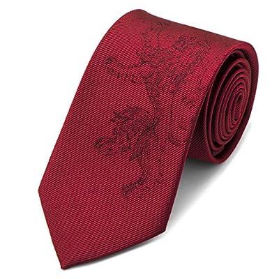 Game of Thrones Lannister Lion Red Men's Tie