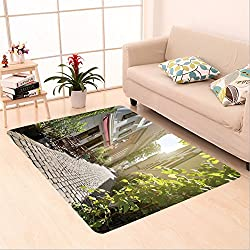 Sophiehome skid Slip rubber back antibacterial Area Rug alley at spittelberg old town vienna austria 157018646 Home Decorative