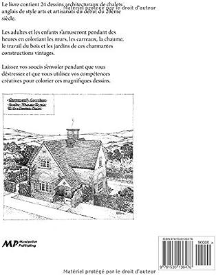 Le Livre De Coloriage De Chalets Anglais Vintage By Hugh