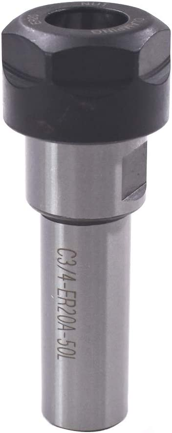 C3//4-ER20A-50L Collet Chuck  Straight Shank For CNC Milling Lathe Tool
