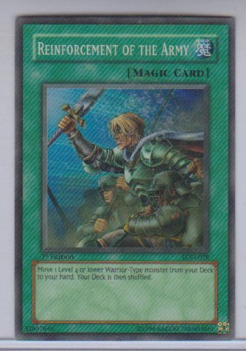 Reinforcement of the Army Holo Rare Yugioh LOD-028