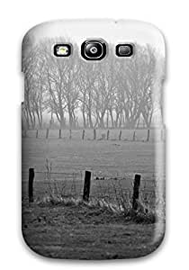 Cute Tpu Rolanlark Black And White Nature Case Cover For Galaxy S3