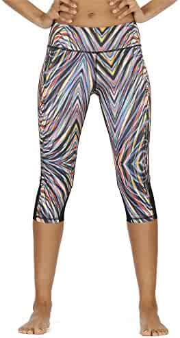 b99ba2079a926 icyzone Yoga Pants for Women - High Waisted Workout Leggings, Activewear  Athletic Capris Exercise Tights
