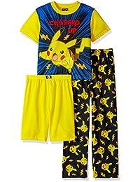 Pokemon Boys Catch 'em All 3-Piece Pajama Set
