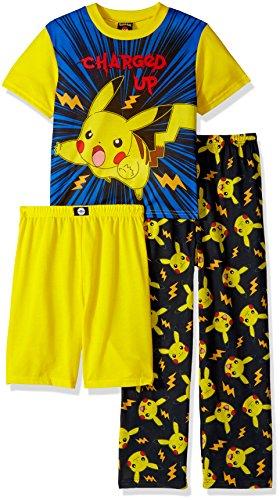 Pokemon Boys Catch em All 3-Piece Pajama Set