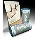 3 Rolls 100mm Knauf Earthwool Acoustic Insulation Partition Roll 11m2 Per Roll by Knauf