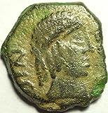 SPAIN OBULCA 1ST CENTURY BC AE SEMIS 19M
