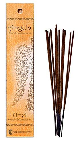 - Fiore D'Oriente Angels Incense Uriel 10 Sticks in Orange Packaging