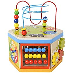 Top Bright 7 In 1 Activity Cube