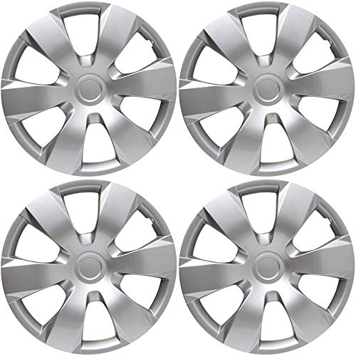 16 inch Hubcaps Best for 2007-2011 Toyota Camry - (Set of 4)