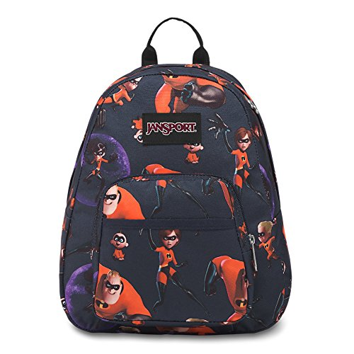 JanSport Incredibles Half Pint Mini Backpack - Incredibles Edna