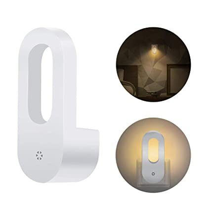 Shishanyun PIR Cuerpo Sensor de Movimiento Pared Pasillo Muro lámpara Luminarias Lámpara Luz de Noche Batería