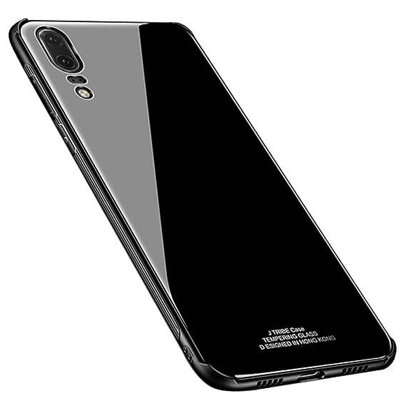 Amazon com: Kepuch Quartz Huawei P20 Case - TPU + Tempered