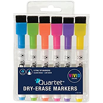 Amazon.com : Quartet Dry Erase Markers, ReWritables, Fine