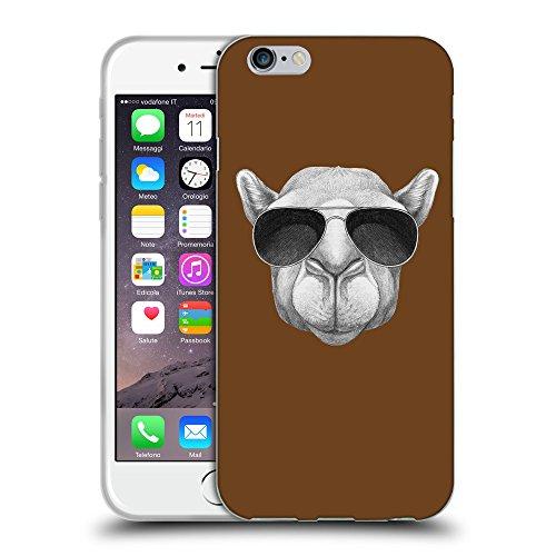 GoGoMobile Coque de Protection TPU Silicone Case pour // Q05460633 Chameau soleil Sépia // Apple iPhone 7