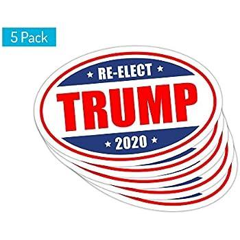 *Oval Car Magnet* Trump 2020 Tuck Frump TO449