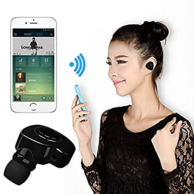 Bluetooth Earbud, NOVPEAK Mono In ear Wireless Handsfree Stereo Mini Earphone with Mic Microphone for iPhone Samsung iPad and more IOS Android SmartPhones from SQdeal