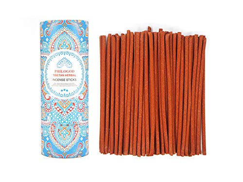 Tibetan Herbal Incense Stick, Lasts 45 Minutes, 85 Sticks(BuddhaLa 2.0)