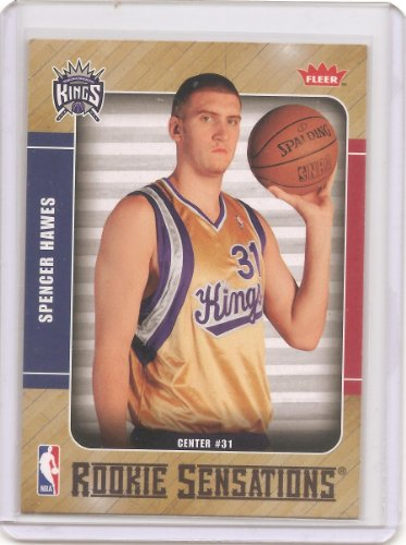 2007-08 Fleer Rookie Sensations Basketball Card # RS-10 - Spencer Hawes ()
