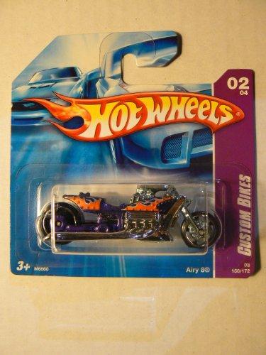 Hot Wheels '08 Custom Bikes 02/04 Airy 8 150/172 on Short Card