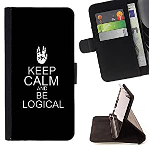 - Queen Pattern FOR LG Nexus 5 D820 D821 /La identificaci????n del cr????dito ranuras para tarjetas tir????n de la caja Cartera de cuero cubie - be logical keep calm black trek sc