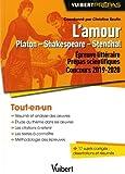 L'Amour Platon - Shakespeare - Stendhal - Epreuve littéraire pour les prépas scientifiques Concours 2019-2020