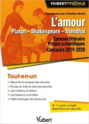 L Amour Platon Shakespeare Stendhal Concours 2019 2020