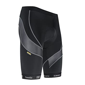 Santic Men S Cycling Compression Shorts 4d Padded