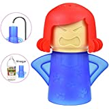 Microwave Cleaner Tool Angry MaMa,Healthy and Safe Cleaning dishwasher Methods,Microwave Oven Steam Cleaner Easily Cleans The Stains in Minutes,Improve The Smell of Microwave Oven - Blue