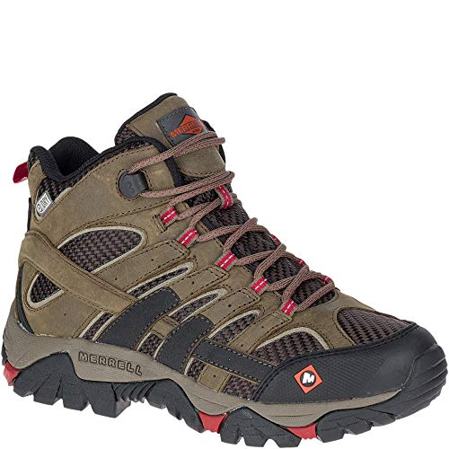 Merrell Moab 2 Ventilator Mid Waterproof Work Boot Women 8.5 Boulder