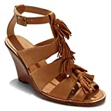 Tommy Bahama Women's Palrinna Wedge, Whiskey, 7 B-Medium