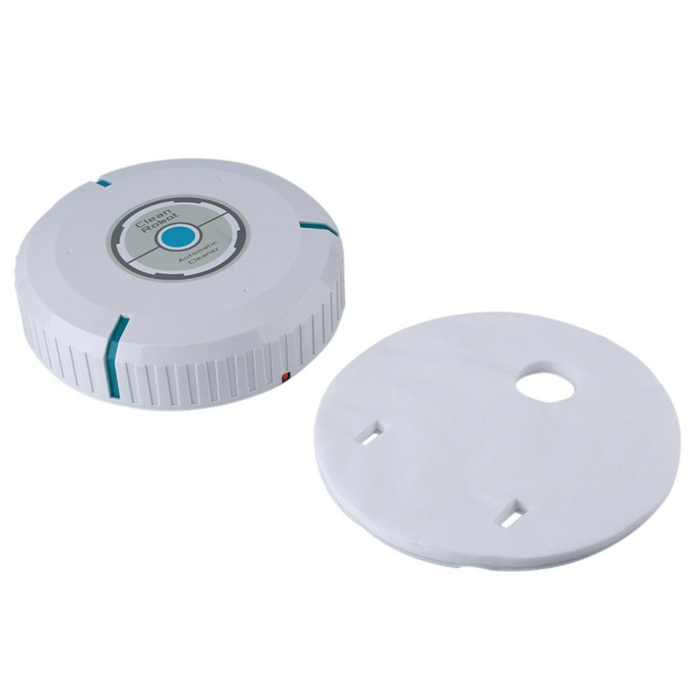RONSHIN Intelligence Vacuum Cleaner Household Multifunctional Sweeping Robot Toy for Kids Adults White
