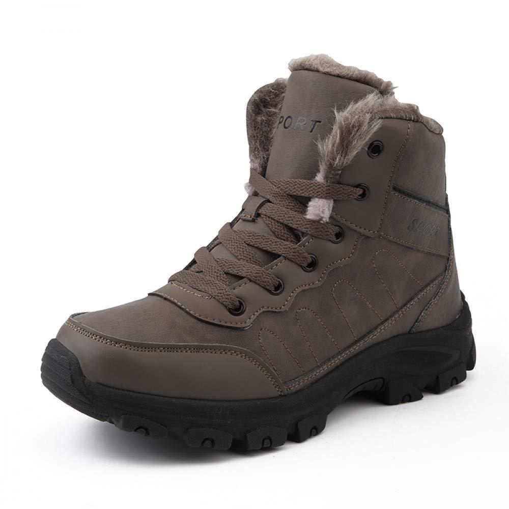 FHCGMX Männer Stiefel Winter Mit Warmen Schnee Stiefel Männer Winterstiefel Arbeitsschuhe Männer Schuhe Mode Gummi Stiefeletten 39-45