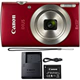 Canon PowerShot IXUS 185 / Elph 180 20MP Compact Digital Camera Red