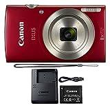 Canon PowerShot IXUS 185 / Elph 180 20MP Compact Digital Camera Red