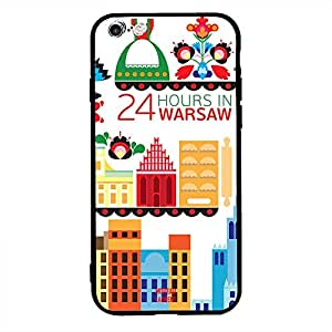 Apple iPhone 6S Plus Case Cover 24 Hours in Warsaw