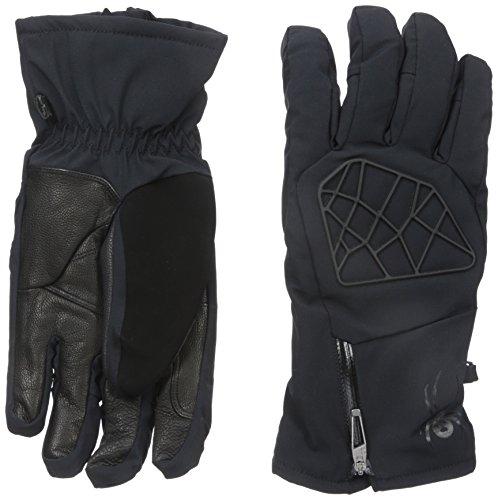Spyder Men's Sestriere Conduct Glove, Black, Small by Spyder