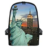MONTOJ New York Statue Of Liberty Kids First Year Schoolbag Extra Small Backpack