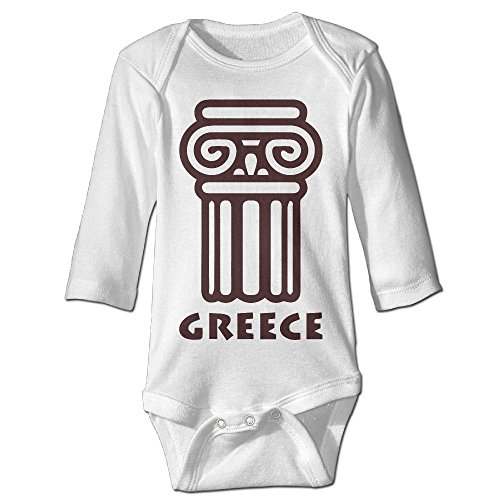 [Babycu Baby's Greek Mythology Hanging Bodysuit Romper Playsuit Outfits Clothes Climbing Clothes Long] (Kids Greek Outfit)