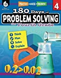 180 Days of Problem Solving for Fourth Grade – Build Math Fluency with this 4th Grade Math Workbook (180 Days of Practice)