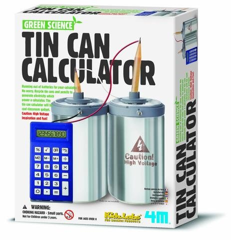 ScienceLAB 4M Green Science - Tin Can Calculator Kit