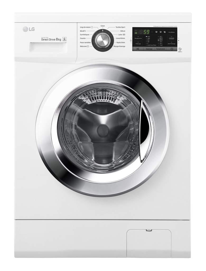 Lavabo frontal LG F84G62WH: Amazon.es: Grandes electrodomésticos