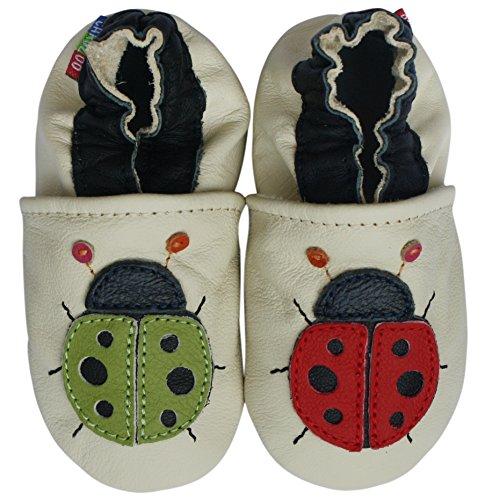 Carozoo Ladybug Cream 6-7y