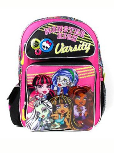 Monster High Backpack - Pink Varsity 16