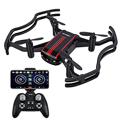 Drones with Camera - AKASO A21 Quadcopter Drone Camera Live Videowith 720P HD FPV WiFi RC Drone for Kids Beginners Adults - with One Key Take-Off/Landing, Optical Altitude Hold by AKASO