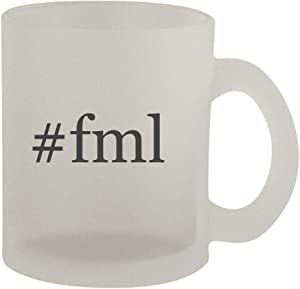 #fml - 10oz Hashtag Frosted Coffee Mug Cup, Frosted